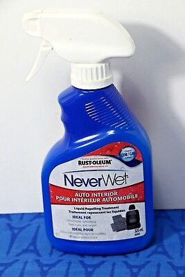 New RUST-OLEUM NeverWet Auto Interior LIQUID REPELLING TREATMENT 325ml / 11 oz
