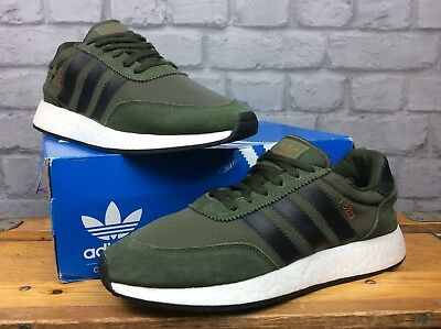 innovative design 4c92b c7d4b Adidas Originals Mens Uk 9 Eu 43 1 3 Khaki I-5923 Boost Runner
