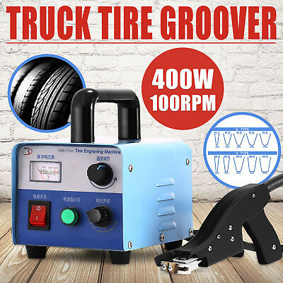 400W Tire Groover Machine Re-Groover Truck Off-Road Pro Grooving Cutter Pro