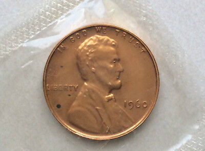 1960-P Lincoln Cent Small Date Proof Penny Uncirculated U.S. Coin D9547