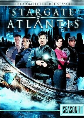 STARGATE ATLANTIS COMPLETE FIRST SEASON 1 ONE New Sealed 5 DVD Set