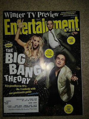 Entertainment Weekly January 11, 2019 The Big Bang Theory Brand New And Mint
