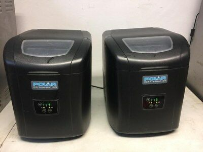 2 black polar ice machines