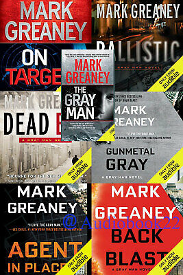 The Gray Man by Mark Greaney  7 Books (Audiobook)