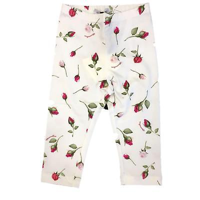 MONNALISA Bambina 113409 Bianco Leggings Estate