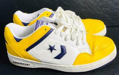 ac1fcf4c57bb VINTAGE CONVERSE WEAPON MAGIC JOHNSON LAKERS Size 11 Purple Gold Low  Sneakers