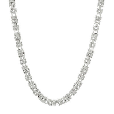 """Judith Ripka Verona 38g Sterling Silver 20"""" Byzantine Necklace QVC $219 Sold Out"""