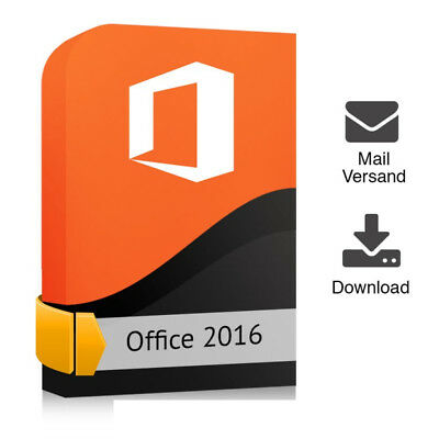 Microsoft Office Home Business 2016 32 Bit & 64 Bit ESD Sofortversand Download