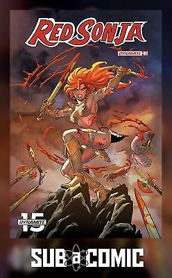 RED SONJA #1 COVER A CONNER (DYNAMITE 2019 1st Print) COMIC