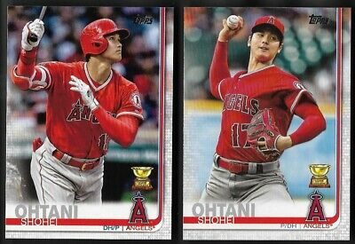2019 Topps Baseball Series 1 # 250 SHOHEI OHTANI Los Angeles Angels Rookie Cup