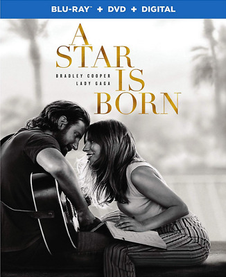 A Star Is Born (Blu-ray, DVD, 2018 - Lady Gaga, Bradley Cooper) - PREORDER