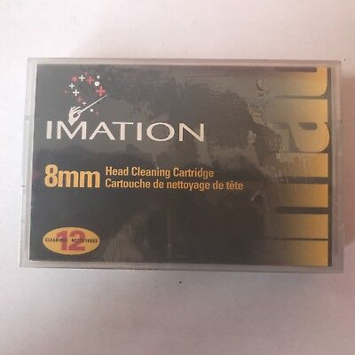IMATION 8mm HEAD CLEANING CARTRIDGE - LOT OF 10