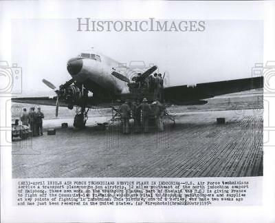 1954 Press Photo US Air Force Transport Plane - RRV75855