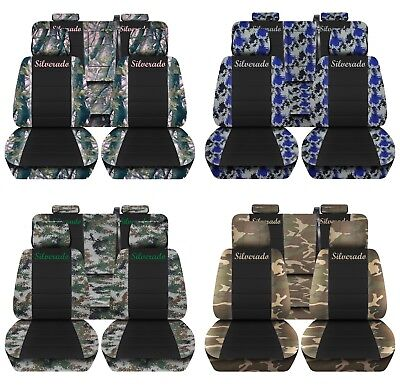 Amazing Truck Seat Covers 2015 18 Ford F150 Front Rear Camo Dailytribune Chair Design For Home Dailytribuneorg