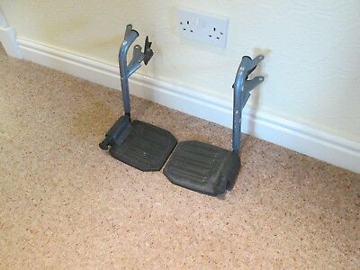 1 Pr Days Wheelchair Footrests Swing away / Removable Used