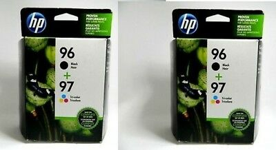 2pk HP 96 97 Combo Ink Cartridges NEW GENUINE