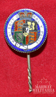 1819, COIN Art Sixpence coin with Enamel Royal Standard of George III (Inv8951)