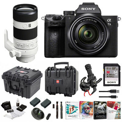 Sony α7 III Full Frame Mirrorless Camera with 28-70mm and 70-200mm Lens Kit