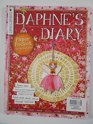 Daphne's Diary Magazine Publication Number 8  2016 PRISTINE! Printed in UK