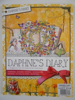 Daphne's Diary Magazine Publication Number 4  2014 PRISTINE! Printed in UK