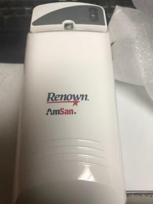 LED Odor Control Automatic Aerosol Dispenser White Renown Janitorial REN03539