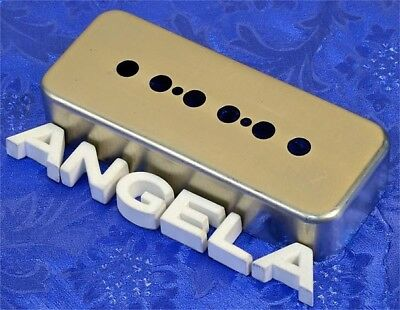 Lindy Fralin Raw Nickel Soap Bar P90 P 90 Les Paul Pickup Cover Made In USA NEW