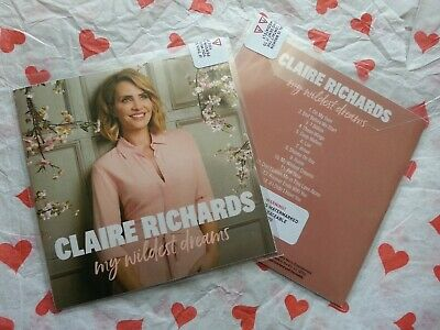 STEPS - Claire Richards - My wildest dreams (SEALED PROMO CD - 14 TRACKS)..£3.99