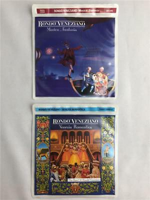 * 2 Rondo Veneziano Audio CDs Musica Fantasia Venezia Romantica Best of Music