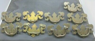Furniture Metal Drawer Pulls Chippendale Style (9    pulls)