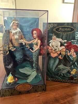 Ariel Triton The Little Mermaid Limited Edition Designer Doll Collectible