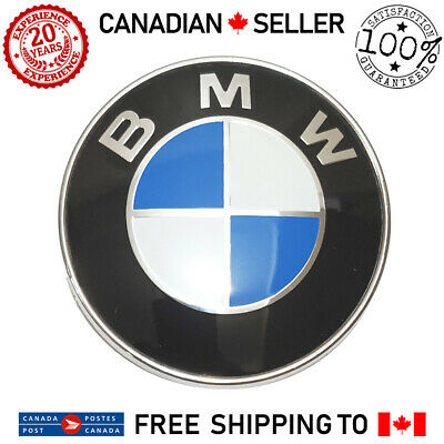 BMW 78mm Fender Trunk Lid Emblem Side Grille Rear Badge Roundel Z3 E65 E66 X5