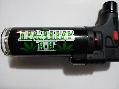 Soreaming Eagle Torch Refillable Legalize IT Windproof Jet Lighter Size 4' Black