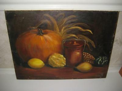 "Vintage Signed Original Oil Painting On Canvas Board ~ Anne Malone ~ 12"" X 16"""