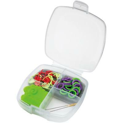 Clover Knitting Accessory Set for Socks - Stitch Markers, Point Protectors