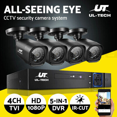 UL-TECH Wireless IP Camera 1080P Outdoor CCTV Spy WIFI Network Security System