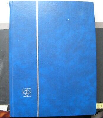 LIGHTHOUSE STOCKBOOK (EMPTY) 30cm x 23cm. VERY GOOD CONDITION 16 PAGES 32 SIDES