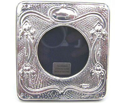 Silver Picture Frame.  Hallmarked Sterling Silver Art Nouveau Style Photo Frame