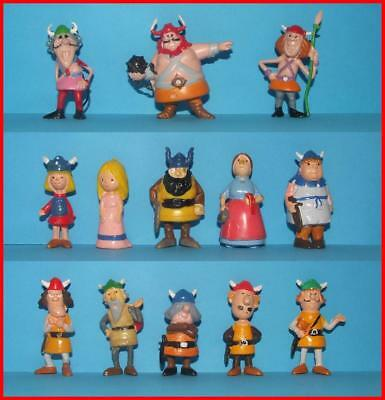 Vicky the Viking 13 Vintage Heimo Figures Complete Set with Sven Bador and Wache