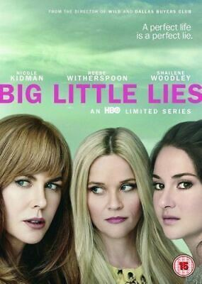 Big Little Lies S1  with Reese Witherspoon New (DVD  2017)
