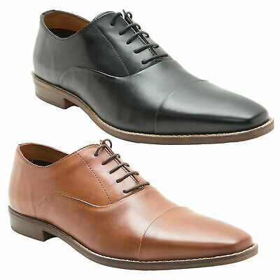 Mens Red Tape Stanton Smart Casual Leather Formal Oxford Shoes Sizes 7 to 12