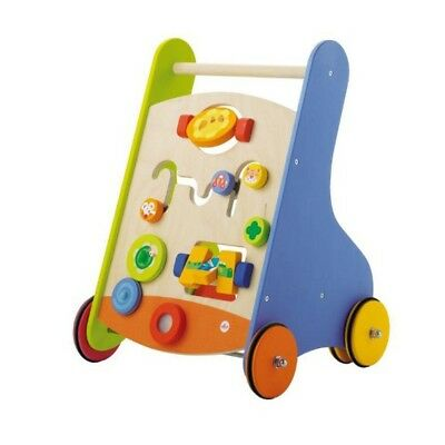 Sevi Running Learn Car Baby Walker Spielwagen of Wood Motor Skills Game Funny