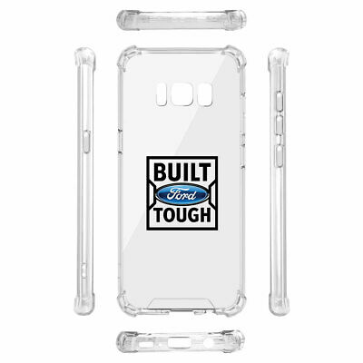 Ford Built Ford Tough Clear TPU Shockproof Galaxy S8 Cell Phone Case