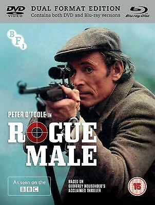 Rogue Male  - DVD & Blu ray NEW & SEALED - Peter O'Toole