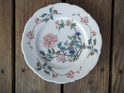 Syracuse China Summerdale Floral Plate Luncheon Lunch Salad 8-7/8 inch Snack