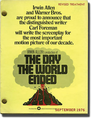 James Goldstone WHEN TIME RAN OUT THE DAY THE WORLD ENDED Original 1976 #143048