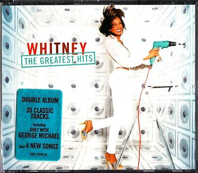 WHITNEY HOUSTON -The Greatest Hits Collection 2-CD (Best Of) George Michael