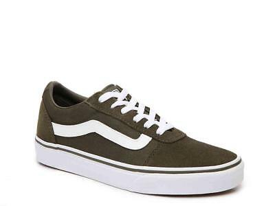 88232105d4db71 NEW - VANS Women s 500714  WARD  LO SUEDE Olive LOW TOP SNEAKERS SHOES -