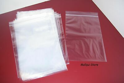 100 CLEAR 3 x 5 ZIP LOCK POLY BAGS PLASTIC SEAL TOP RECLOSABLE BEST 2 MIL