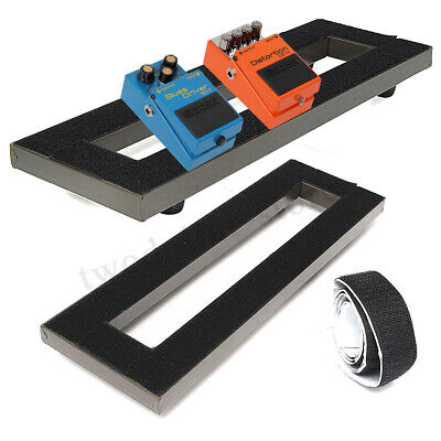Guitar Pedal Board Setup Pedalboards +Trolley Fixed Effects Tape Adhesive Back !