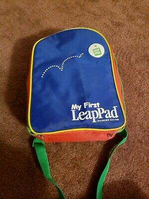 Leap Frog My First Leap Pad System Backpack/Carry Case ONLY